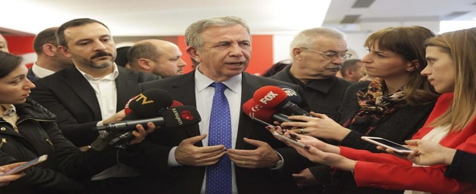 Mansur Yavaş  Mehmet Özhaseki'ye bunu sordu...