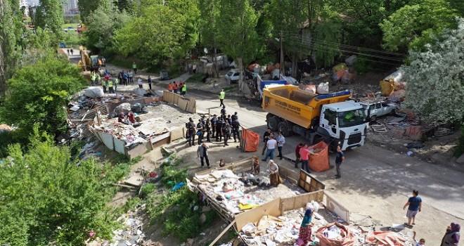 Ankara'dan inanılmaz görüntü! 30 ton atık temizlendi...