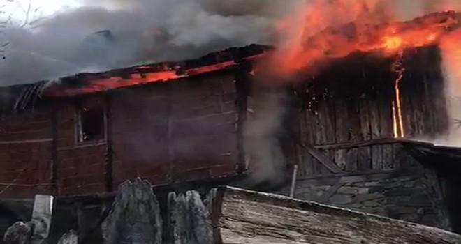 Nallıhan'da yangın
