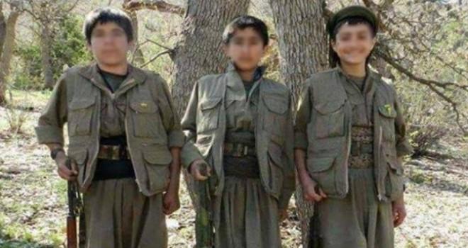 PKK çocukları kullanmaya devam ediyor...