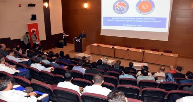 Seferberlik Kaynak Planlama Sistemi'nde pilot il Kırıkkale