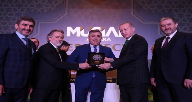 Müsiad Vefa gecesinde 20. yıl ödülleri...