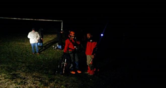 Mahsur kalan kadın dağcı kurtarıldı