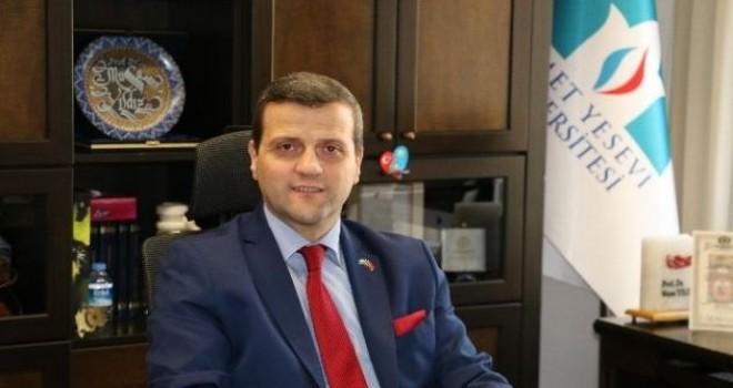 Prof. Dr. Musa Yıldız'a TÜRKSOY'dan 25. Yıl madalyası