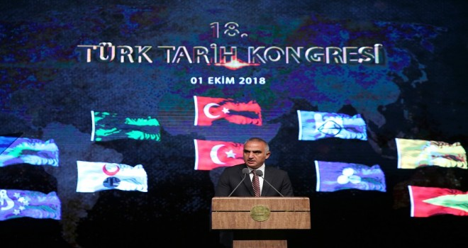 Beştepe'de Türk tarih kongresi