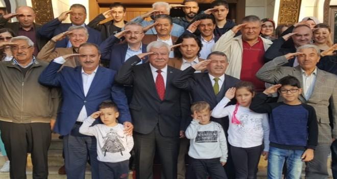 Ülke Medya Derneği  Kongresin de Mehmetçiğe  Asker Selamı