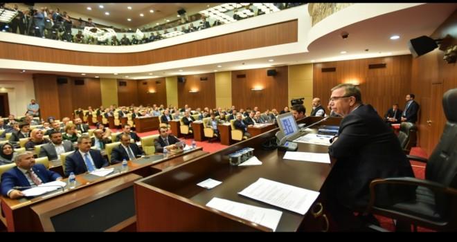 Ankara Büyükşehir belediye meclisinde şirket krizi