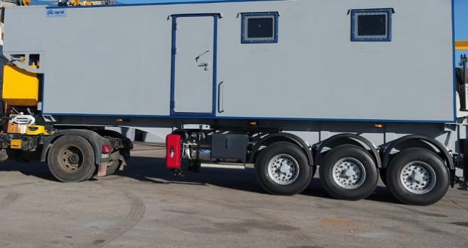 Emniyet güçleri kullanacak: Mobil zırhlı konteynır..