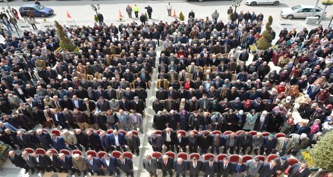 Kızılcahamam belediyesinde devir teslim töreni...