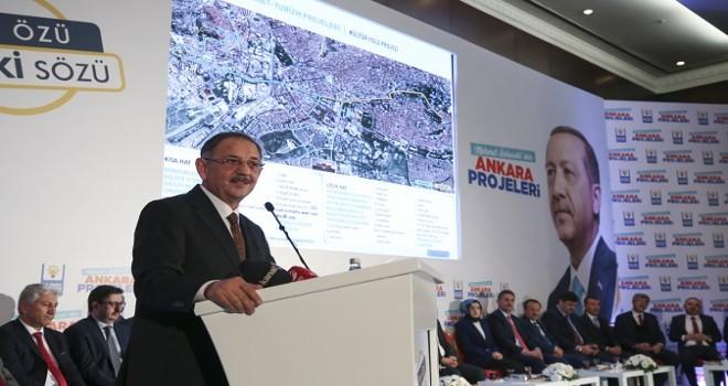 Özhaseki projelerini açıkladı: Kale'den Atakule'ye ve 15 Temmuz anıtına Kültür yolu