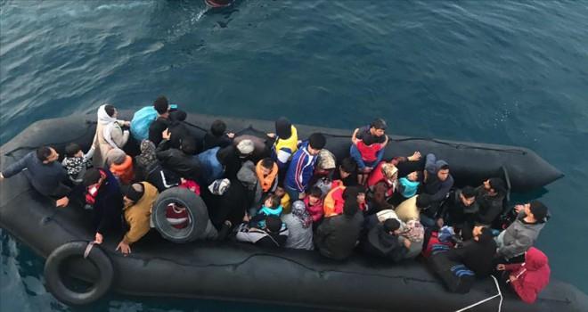 Son 1 haftada 2 bin 406 düzensiz göçmen yakalandı