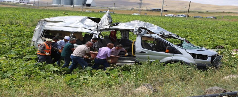 Nevşehir'de katliam gibi kaza: 7 ölü 11 yaralı