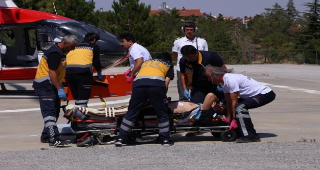 9. Transanatolia Rally Raid yarışında kaza