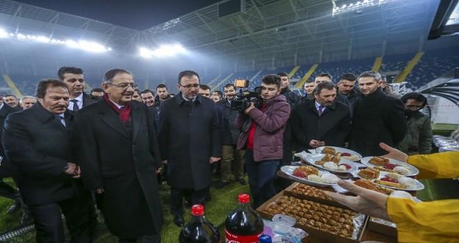 Eryaman Stadı hazır... MKE Ankaragücü cumartesi ilk maçına çıkıyor
