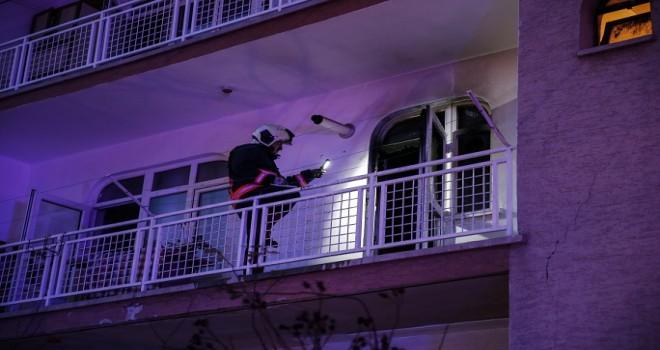 Ankara'da buzdolabında yangın çıktı