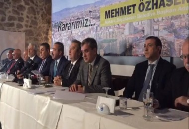 Hemşehri Federasyonlarından Mehmet Özhaseki kararı...