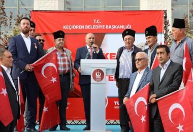 Barış Pınarı harekatını sonuna kadar destekliyoruz...