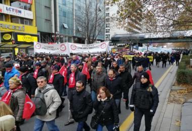 Atatürk'ün Ankara'ya gelişinin 100. yıldönümü etkinliği yürüyüşü