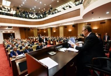 O çok tartışılan Ankara Büyükşehir Belediye Meclisi toplandı