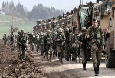 Suriye'nin kuzeyine operasyon başladı...