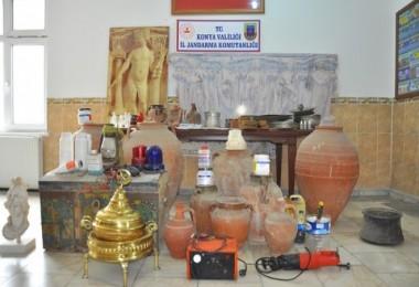 Konya'da sahte tarihi eser operasyonu
