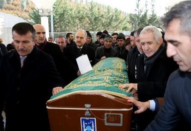 En acı cenaze...