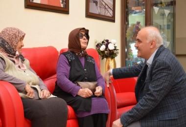 AK Parti Kızılcahamam İlçe Başkanı Acar'dan anlamlı ziyaret