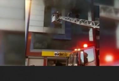 Sitelerde yangın:5 kişi hayatını kaybetti