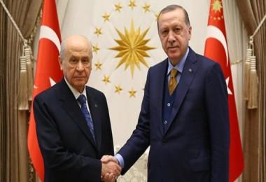 Erdoğan ve Bahçeli yarın biraraya geliyor