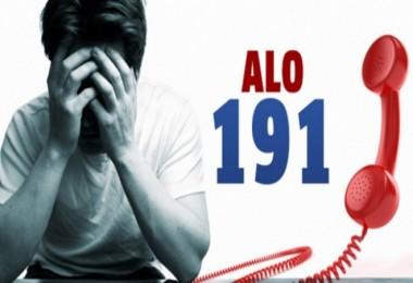 ALO 191'den, 177 bin 234 kişi yararlandı