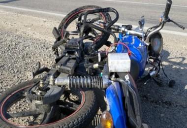 Motosikletli kaza: 1 ölü