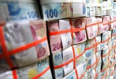 Hazine, 1 milyar 961,1 milyon lira borçlandı
