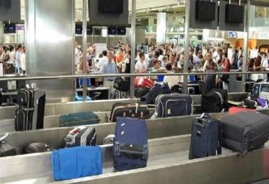 Esenboğa havalimanın da bagajları soyuyorlarmış!