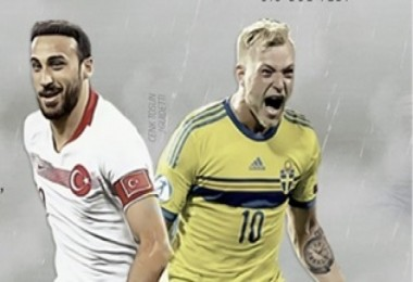 Türkiye-İsveç karşılaşması için nefesler tutuldu